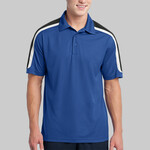 Tricolor Shoulder Micropique Sport Wick ® Polo