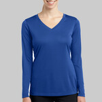 Ladies Long Sleeve V Neck Competitor™ Tee
